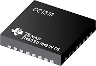 TI CC1310 and CC1312 chipset mini RF Front-End Device